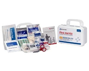 10-Person Bulk First Aid with ANSI A Metal and Weatherproof Case 90755