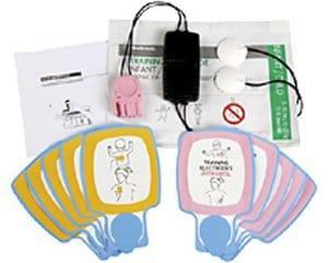 Infant/Child Training Electrode Set 11250-000045