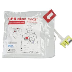 2-Piece Zoll-AED-CPR-Stat-Padz-8900-0402