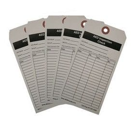 AED Inspection Tags (5-pack) AB 3212