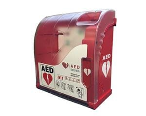 Outdoor AED Wall Cabinet with Alarm & Heating Aivia 200