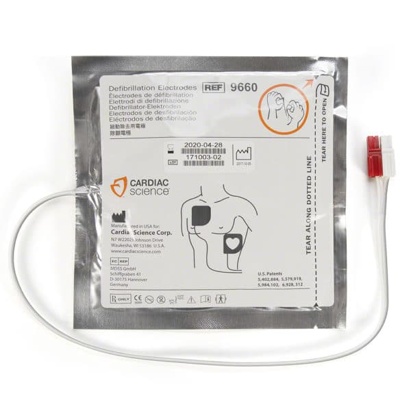 Cardiac-Science-AED-G3-Pro-Pads-9660-001-front