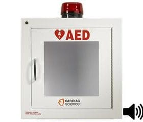 Cardiac Science Brand Cabinet with Alarm & Strobe 50-00392-3