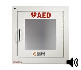 Cardiac Science Brand AED Cabinet with Alarm 50-00392-2