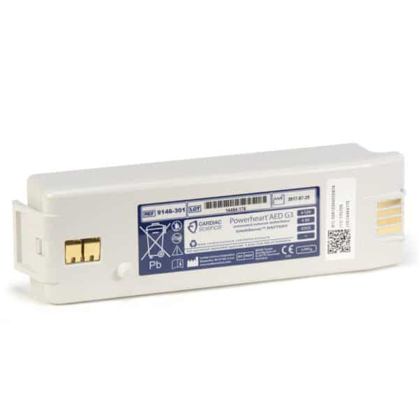 Cardiac-Science-G3-AED-Battery-(white)-9146-301
