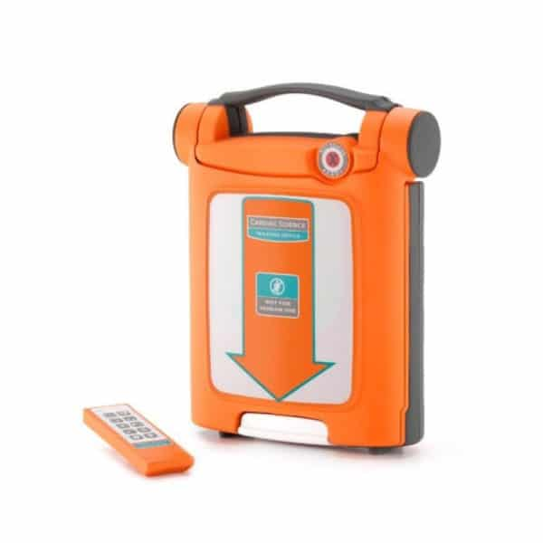 Cardiac-Science-G5-AED-Trainer-190-5020-001-with-remote