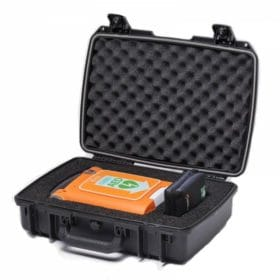 Cardiac-Science-G5-Hard-Shell-Carry-Case-XCAAED003A-open-tilted