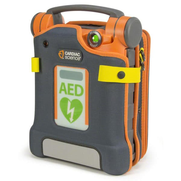 Cardiac-Science-G5-Semi-Rigid-Carry-Case-XCAAED004A-with-AED