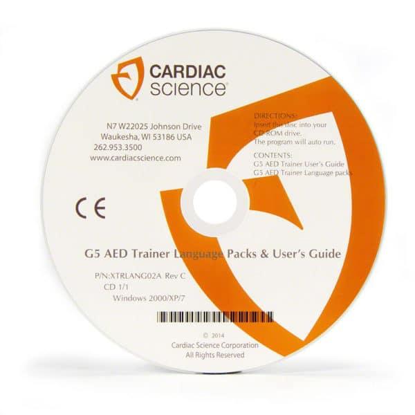 Cardiac-Science-G5-Trainer-Setup-CD-XTRLANG02A