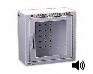 HeartSine Brand Wall Cabinet with Alarm PAD-CAB-01