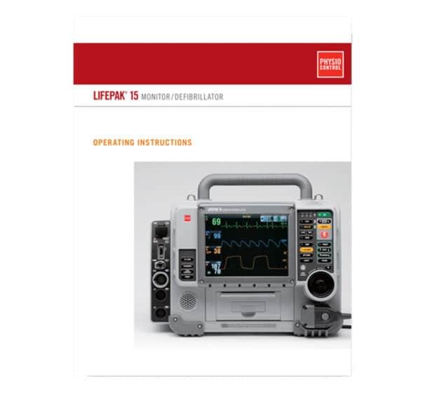 LIFEPAK-15-Operating-Instructions-26500-002408