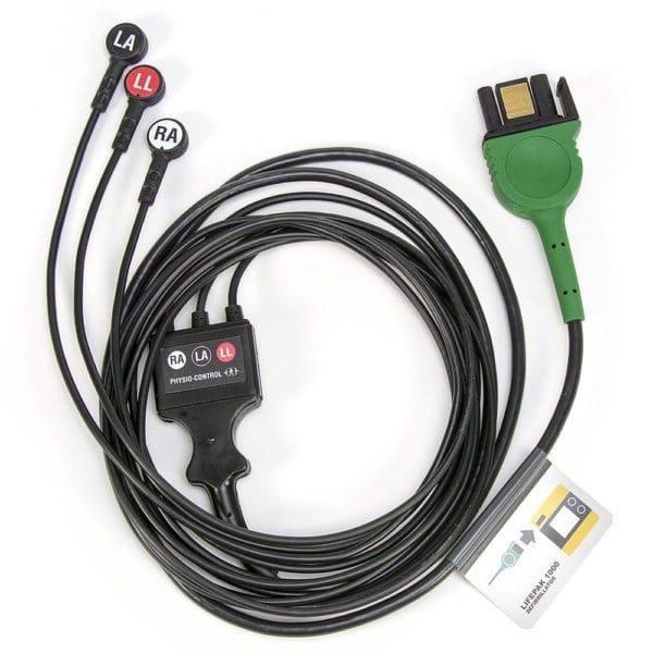 LIFEPAK-3-wire-ECG-Cable-11111-000016