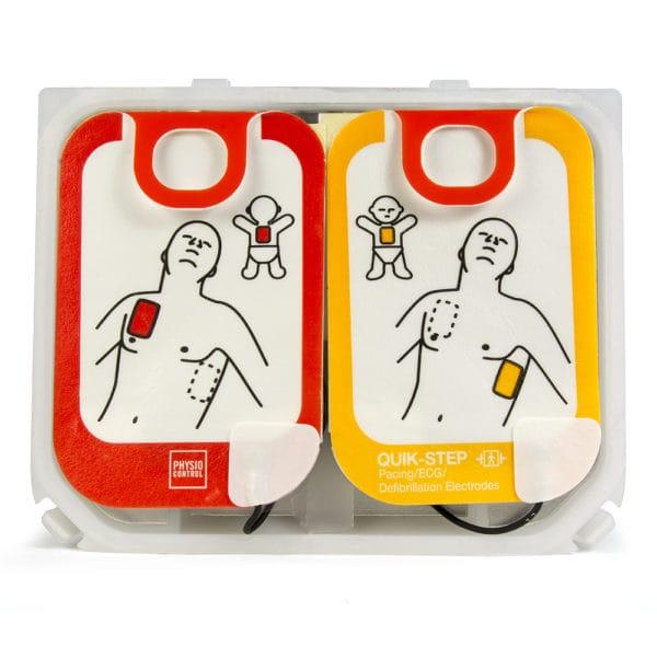 LIFEPAK-CR2-Adult-Child Electrode-Pads-11101-000021-open