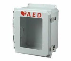 Outdoor AED Wall Cabinet