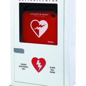 Philips-Semi-Recessed-AED-Cabinet -PFE7023D-