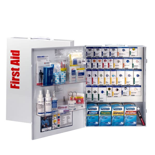 XL-First-Aid-Cabinet-ABF-27735-open-closed