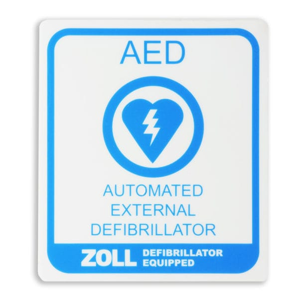 ZOLL AED Location Decal 8000-0849-01