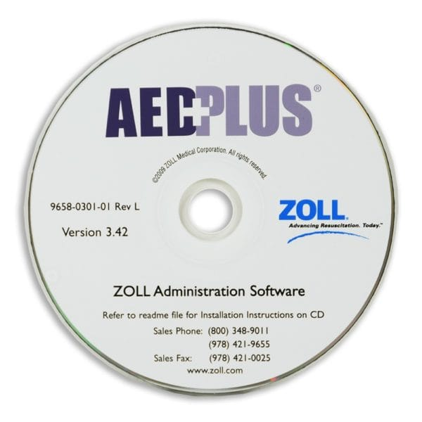 ZOLL-AED-Plus-Administration-Software-8000-0311-01