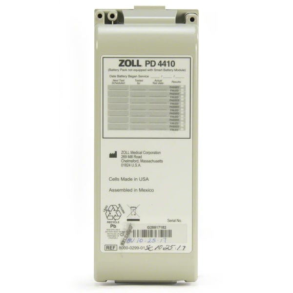 ZOLL-AED-Pro-Rechargeable-Battery-8000-0299-01-front