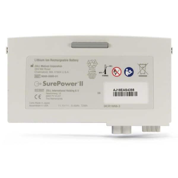ZOLL-SurePower-II-Battery-8000-0580-01-front