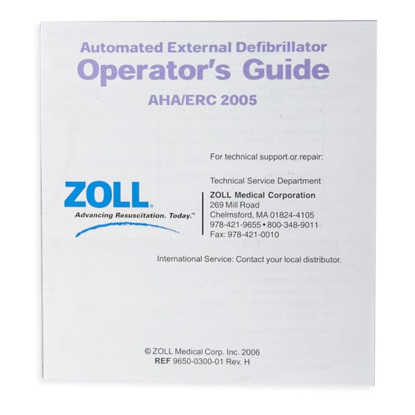 Zoll-AED-Plus-Operator's-Guide-9650-0300-01