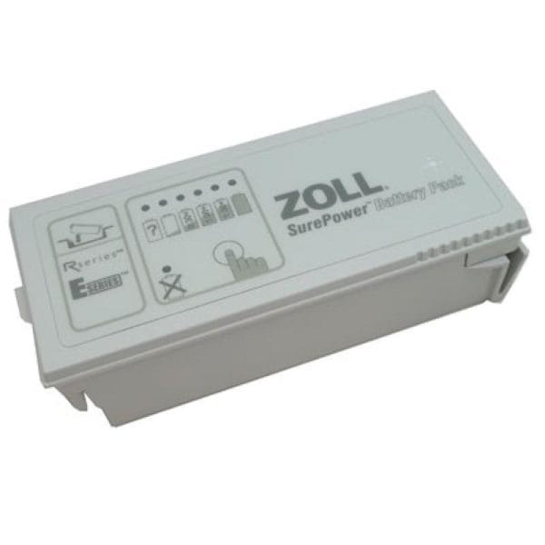 Zoll-AED-Pro-SurePower-Rechargeable-Battery-8019-0535-01-tilted