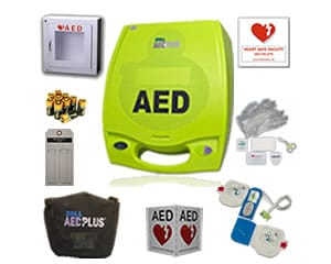 ZOLL AED Plus Local Government Package AB 6400