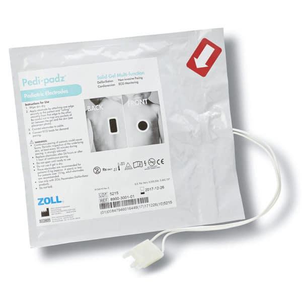 Zoll-Pedi-padz-Reduced-Energy-Electrodes-8900-0401