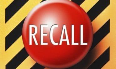 recall notice button