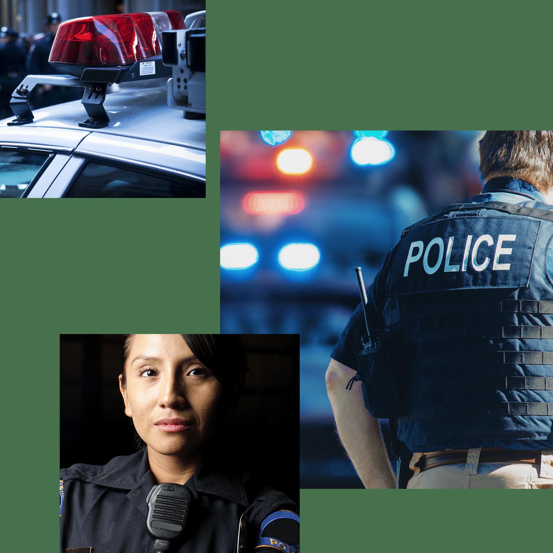 law enforcement collage