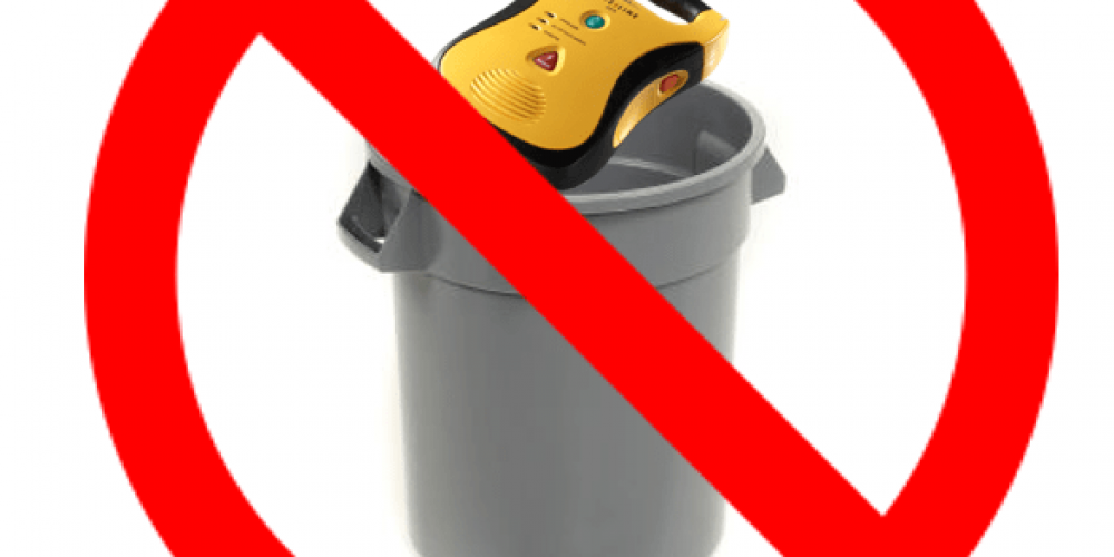 how to dispose of your aed