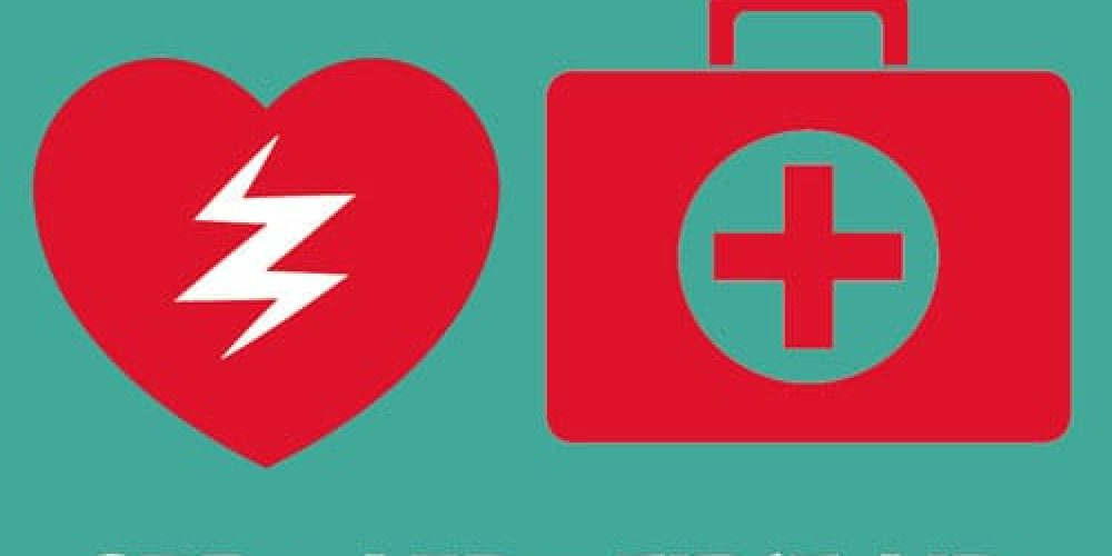 cpr + aed + first aid icons